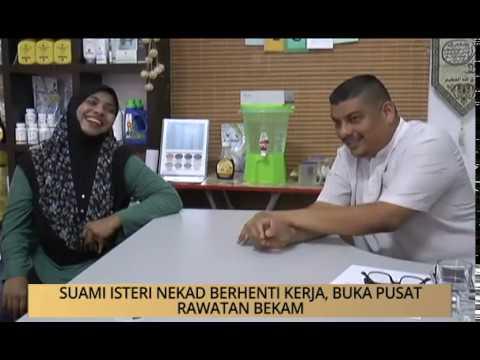 AWANI - Pulau Pinang: Suami isteri nekad berhenti kerja, buka pusat rawatan bekam