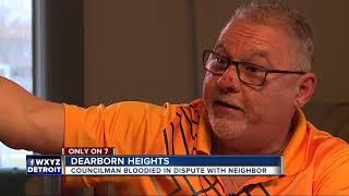 Dearborn Heights councilman, neighbor fight after vandalism caught on video