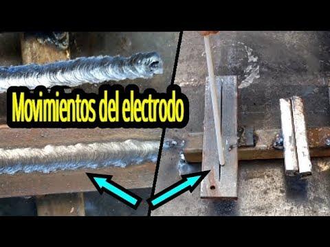 Movimientos Basicos Del Electrodo Para Hacer Un Cordon De Soldadura Electrodo 6013 Youtube
