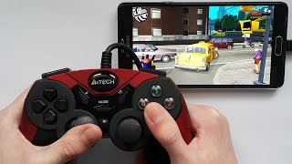 GTA Liberty City Stories - Android - Controller Gameplay Test - Note 4 N910C