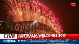 Новогодний салют в Сиднее 2017(Sydney New Years Eve Fireworks 2017)