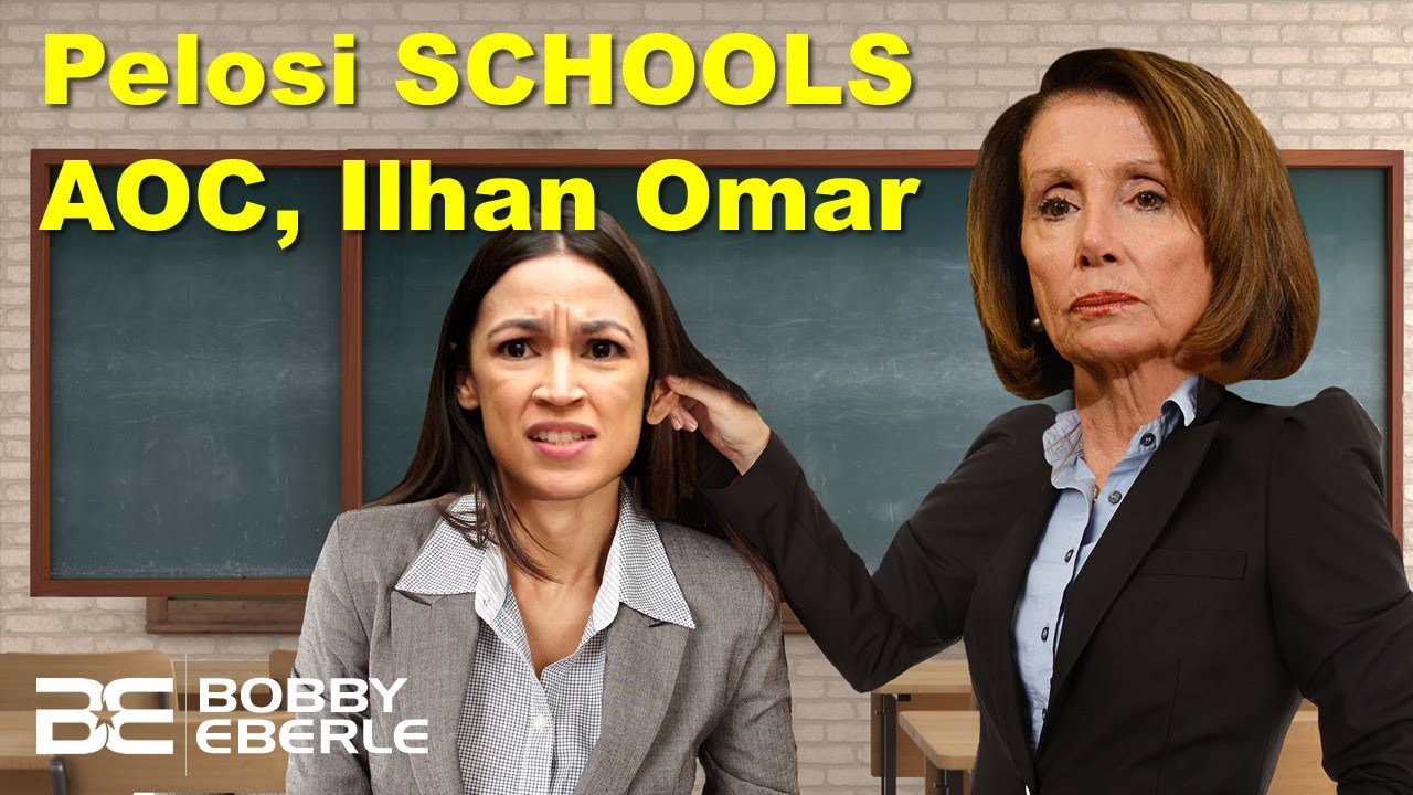Pelosi Stuns and SCHOOLS AOC and Ilhan Omar! Border Patrol Chief EXPOSES AOC's lies! | Ep. 79