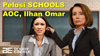 Pelosi Stuns and SCHOOLS AOC and Ilhan Omar! Border Patrol Chief EXPOSES AOC's lies! | Ep. 79