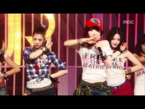 Rainbow - Not Your Girl, 레인보우 - 낫 유어 걸, Music Core 20100116