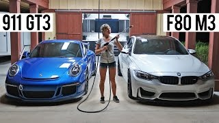 Porsche 991 GT3 Vs. F80 BMW M3 - First Drive thumbnail