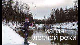 Береговая рыбалка на реке. Щука после схода льда.