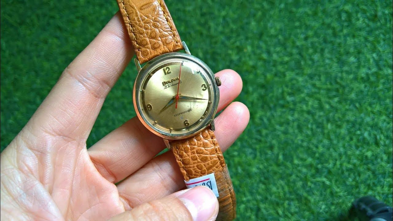 Kiên đồ cũ | Đồng hồ đeo tay cổ xưa BULOVA thụy sỹ cổ cơ máy soi gương cực chất  0936.050.424