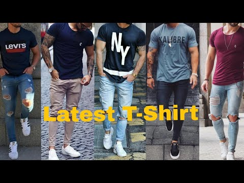 Top Stylish T-Shirt Trends 2019 | Latest Collection T-shirt For Men's