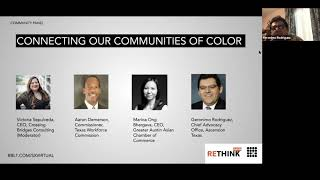 ReThink Austin 2020 - Connecting our Communities of Color (Community Panel)