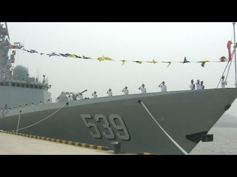 Chinese navy commissions new frigate