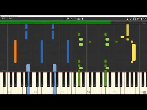 Vald - Désaccordé [Piano Tutorial] (4 Hands) // TSBK