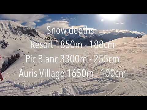 Alpe d'Huez Snow Report: 24th January 2018