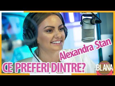 ALEXANDRA STAN joacă