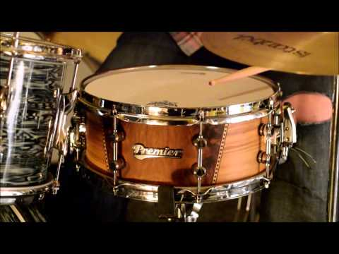 dD Drums Falkirk : Premier ONE Series - Little Wrafton - Snare Drum Demo