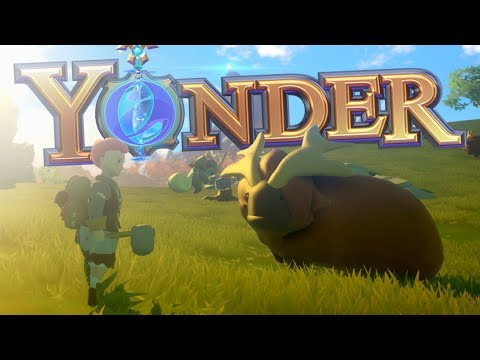 Yonder: The Cloud Catcher Chronicles - Building A Farm & Animal Taming - Yonder PC Gameplay Part 1