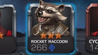 MARVEL: Contest of Champions - 3 STAR ROCKET RACCOON (iOS/Android) Lets play Gameplay
