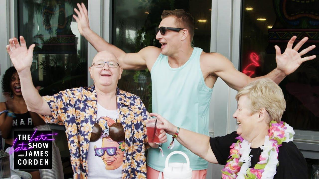 James Corden's Parents Explore Miami w/ Harry Styles, Gronk & John Cena