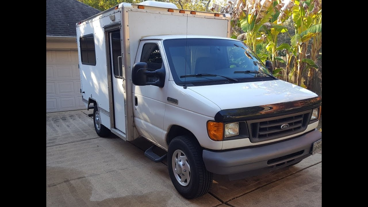 Truck Camper For Sale >> Box Truck Camper For Sale And Channel Updates