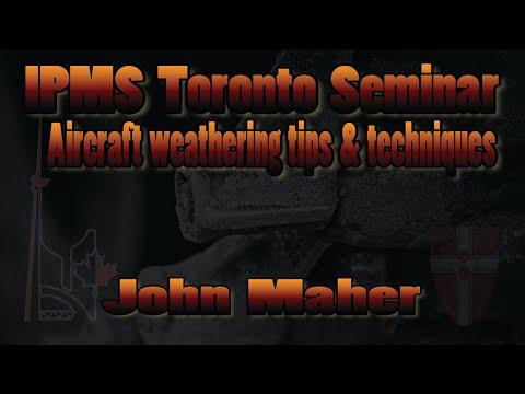 John Maher Presents Aircraft weathering tips & techniques