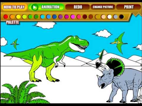 Dinosaur Coloring Pages 6 *Dinosaur Coloring Page For Kids 6 ...