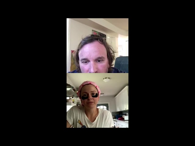 Mental Health Chat - Lenny Jacobson and Rose McIver (April 07, 2020) PART 3
