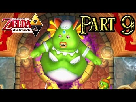 The Legend of Zelda: A Link Between Worlds - Part 9: Zora's Domain | Pegasus Boots & Zora Flippers!
