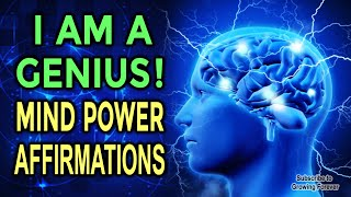 UNLEASH Your GENIUS With Powerful Affirmations for Mind & Brain Power - 432 Hz While You Sleep!