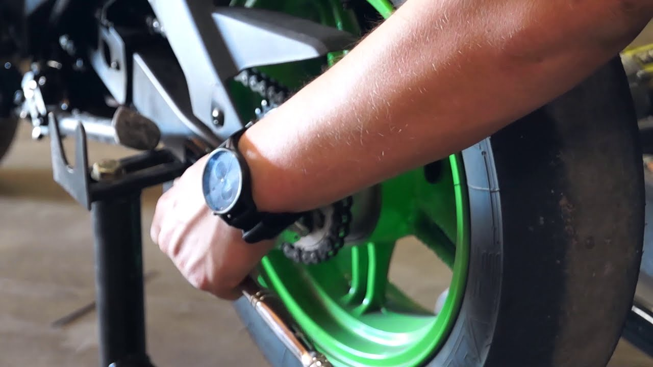 The Best Z125 Mod! | Otb Chain Adjusters!  Faith Riding Johnny 07:02 HD
