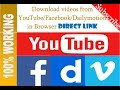 How to download Facebook videos with idm 2017