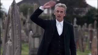 Doctor Who - Death in Heaven - The Doctor Salutes Brigadier Lethbridge-Stewart