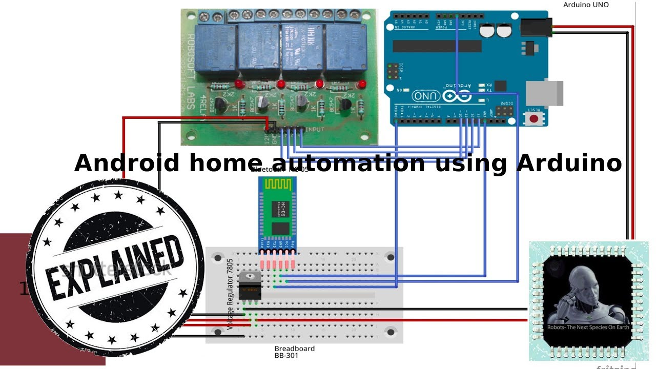 Favoriete Home automation using arduino || android home automation - YouTube @TL99