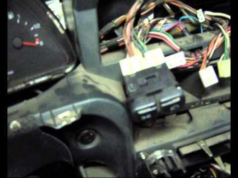 Как снять панель приборов на ваз 2115 видео инструкция