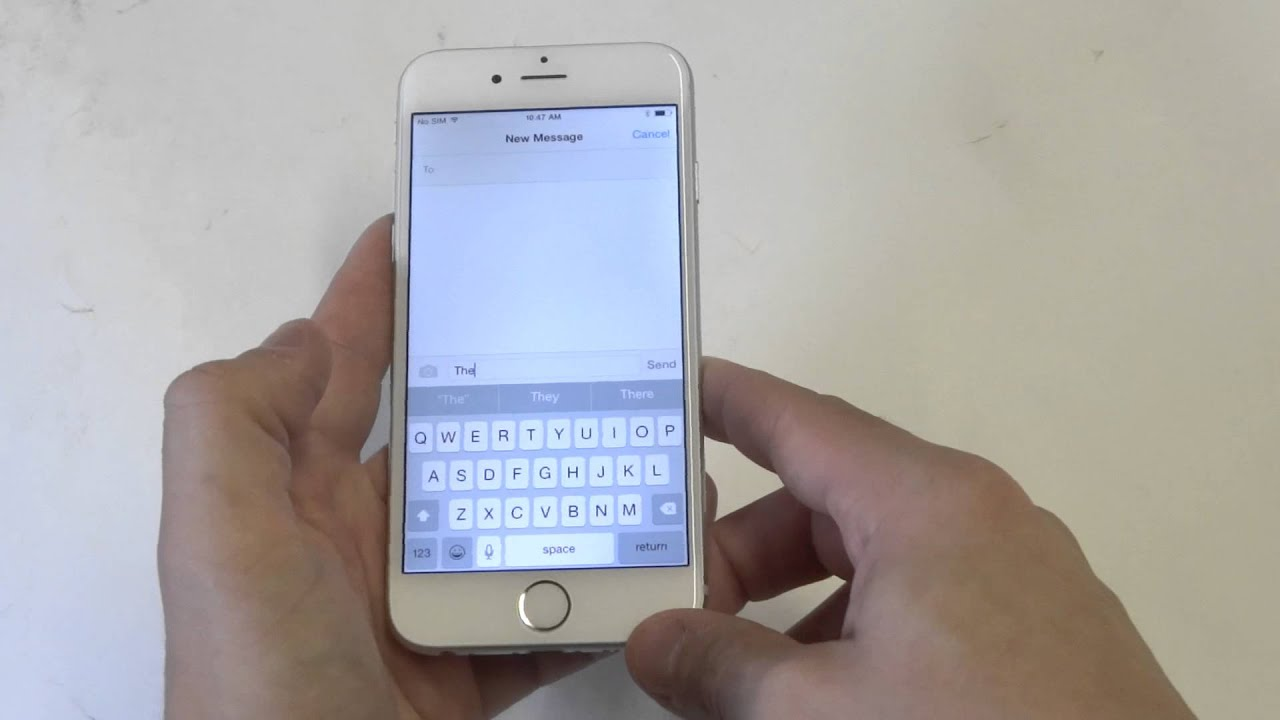 How to turn off autocorrect on iphone 6 plus 5
