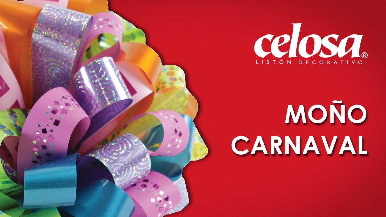 Manualidades y decoraci n mo o carnaval youtube - Decoracion de carnaval ...