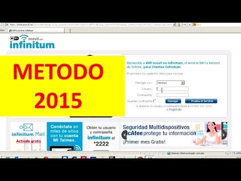 Hakear la red de infinitum movil HD 2015
