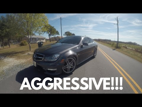 DID A REVIEW ON MY DREAM CAR MERCEDES AMG C63!!!!