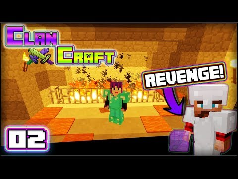 ClanCraft | Episode 2: REVENGE WILL BE MINE! | Pranked!