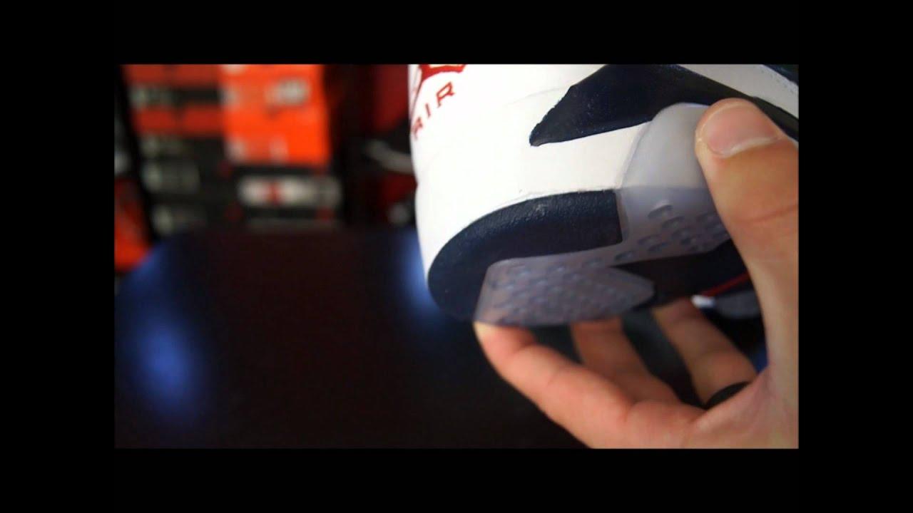 8c2e4dba3dc149 Air Jordan VI (6) Retro Olympic 2012 - YouTube