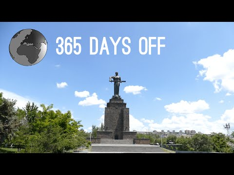 Episode 10 - Armenia - Yerevan & Gyumri / 365 days off - Tra