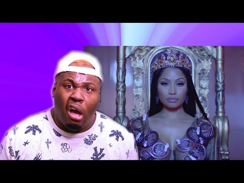 NICKI MINAJ NO FRAUDS   REACTION Zachary Campbell