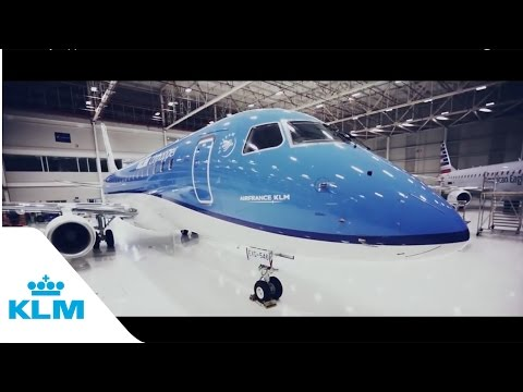 KLM Cityhopper first Embraer 175