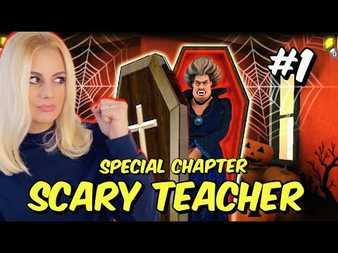 Super Spell SCARY TEACHER 3D Special Chapter Round 1 Let's Play Kristina @Kristina Ekou
