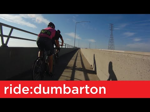 Ride: Dumbarton Bridge (Don Edwards toward Menlo Park)