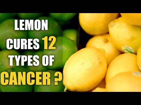 Frozen Lemons Kill Cancer, 10,000 Times Stronger than Chemotherapy | Lemon Health Benefits | Facts