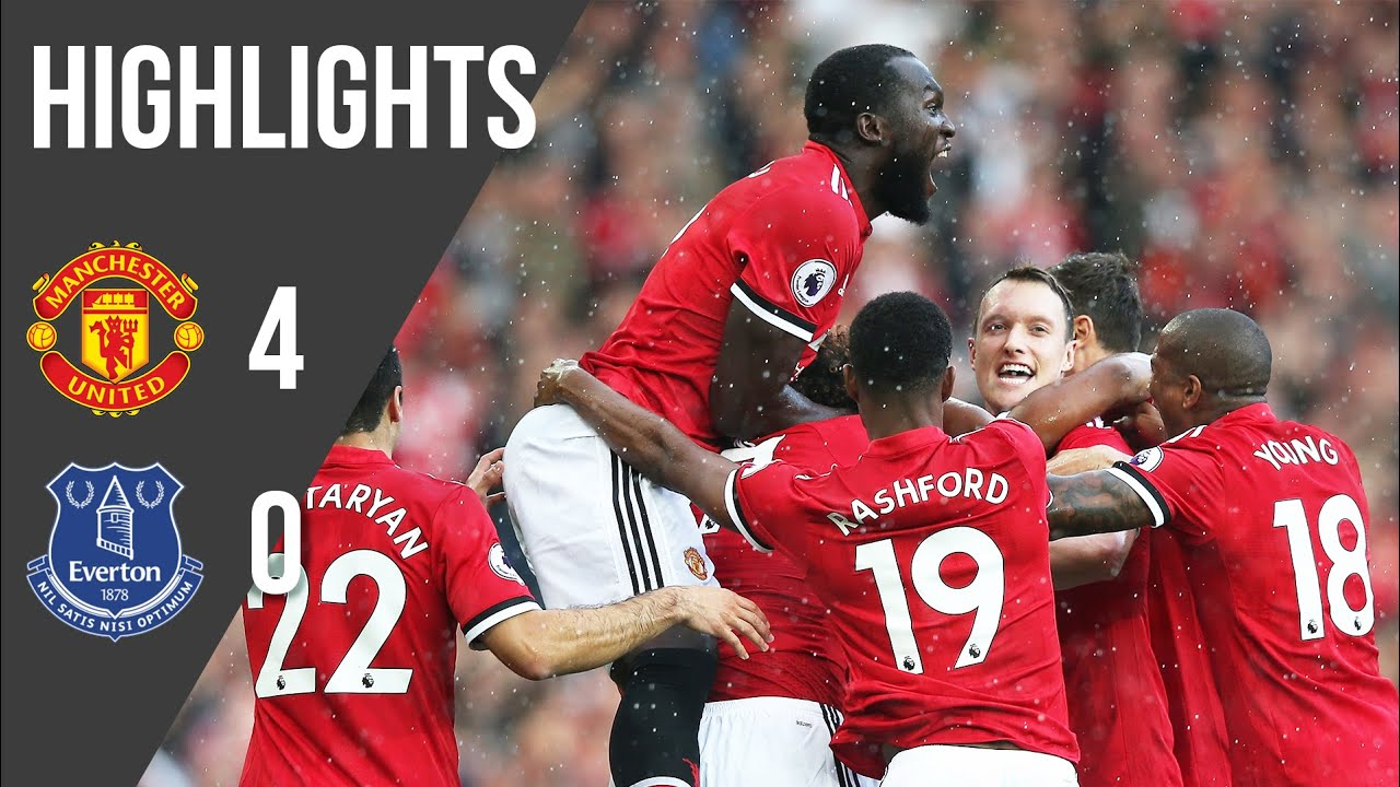 Download Manchester United 4-0 Everton   Premier League Highlights (17/18)   Manchester United