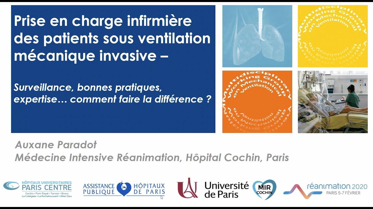 Prise En Charge Infirmiere Des Patients Sous Ventilation Mecanique Invasive Youtube