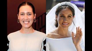 Любимый дизайнер Кейт Миддлтон оправдалась за критику свадебного платья Меган Маркл