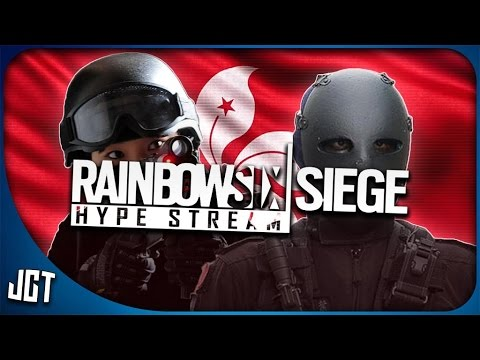 RAINBOW 6 SIEGE - HONG KONG DLC HYPE STREAM.