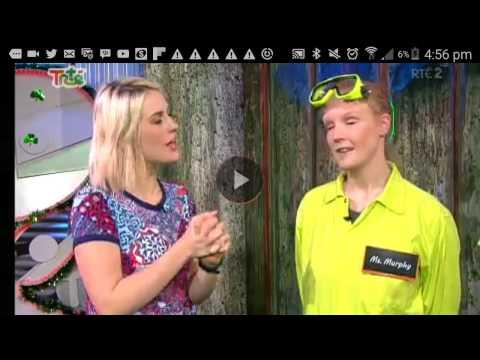 Swipe TV 14/04/16 irish teacher gunged