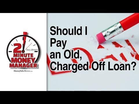 Should I Pay An Old, Charged Off Loan?